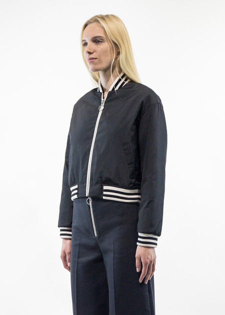 Harmony Melodie Contrast Bomber Jacket