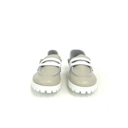 U. No. 5 Loafer - Beige/White