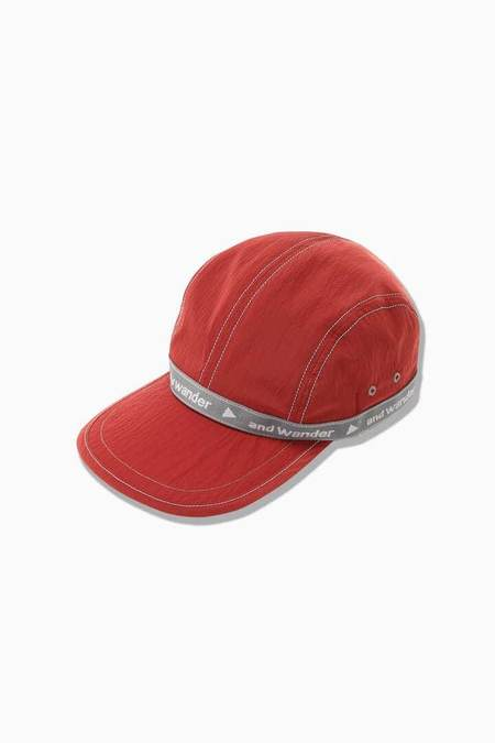 and wander JQ Tape Cap - Red