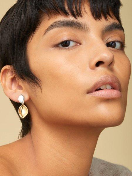 Jenny Bird Dore Detachable Drop Earrings - Two Tone
