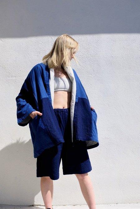 Unisex Delphine Haori Coat - Patchwork