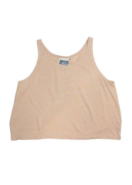 Jungmaven Cropped Tank - Dusty Pink