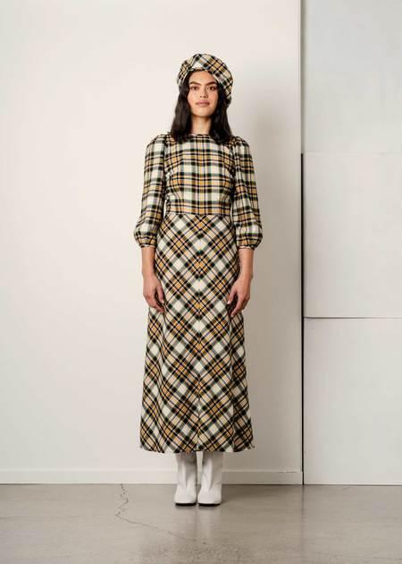 Penny Sage Robin Dress - Plaid Flannel