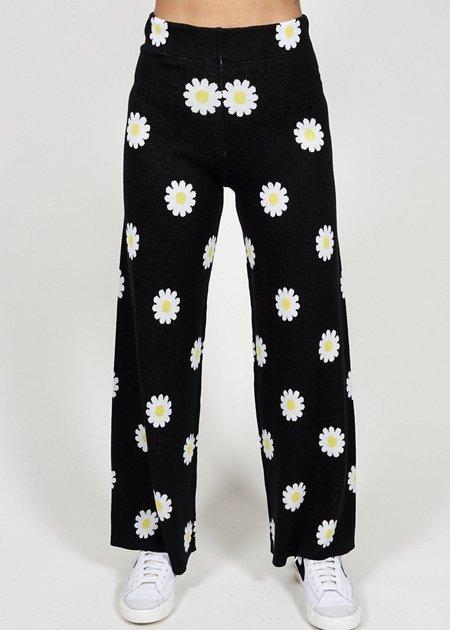 St. Geraldine Please Don't Eat the Daisy Knit Pants