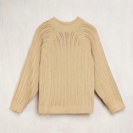 Wol Hide Hand-Knit Sweatshirt Sweater - Undyed 'Sage'