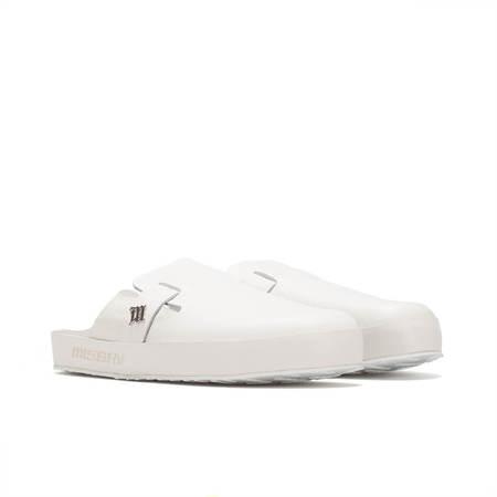 MISBHV Home Monogram slippers - White