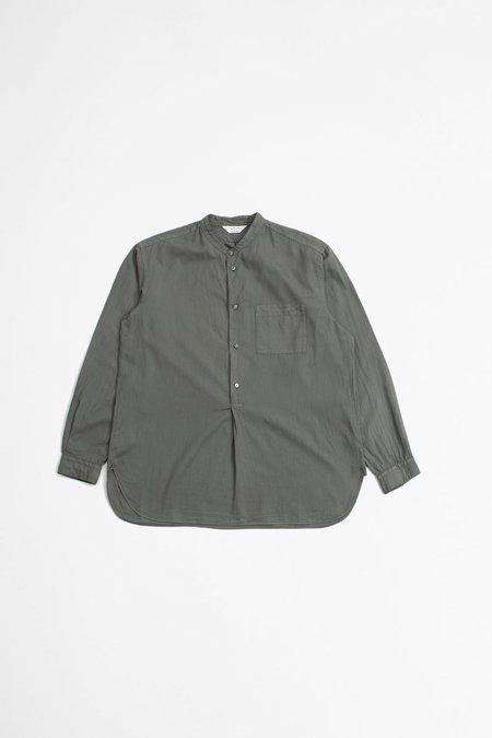Still By Hand Garment dye pullover - grey