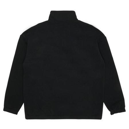 PLEASURES Decline Quarter Zip sweater - Black
