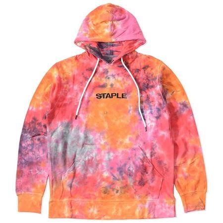 staple Supernova Logo Hoodie sweater - Lava
