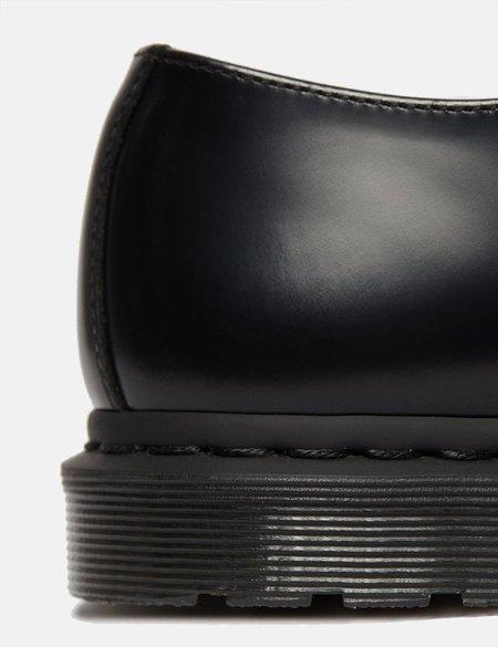 Dr Martens Archie II Shoe - Black Polished Smooth