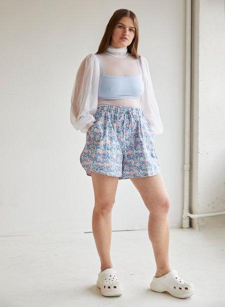 Eliza Faulkner Bailey Shorts - Blue Floral