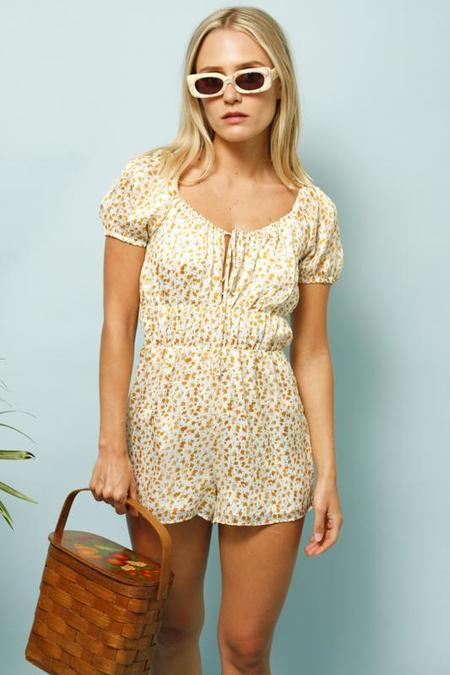 Sage the Label PINO ROMPER - FLORAL