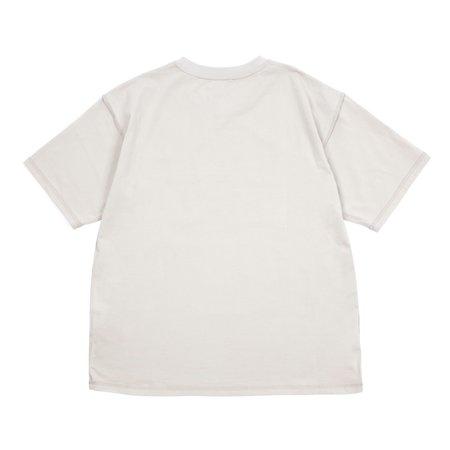 Reborn Double Inside Out T-shirt - Ash