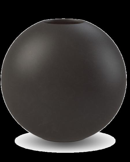 COOEE Design 30cm Ball Vase - Black