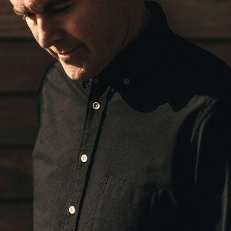 Taylor Stitch The Jack top - Black Oxford