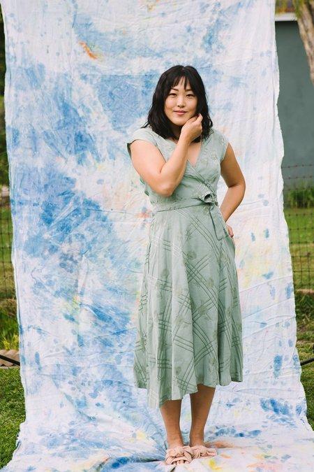 Myrtle Ruth Dress - Sage