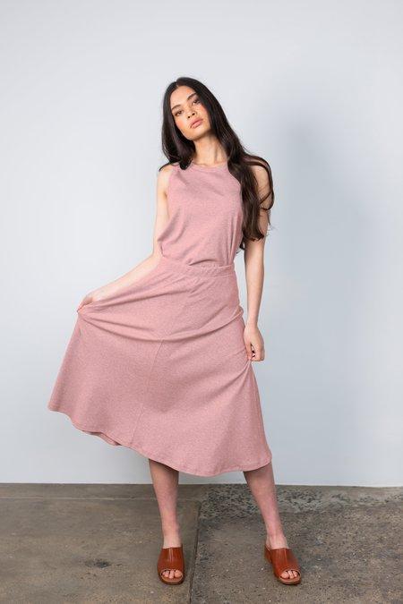 Lois Hazel Rib Skirt - Rose