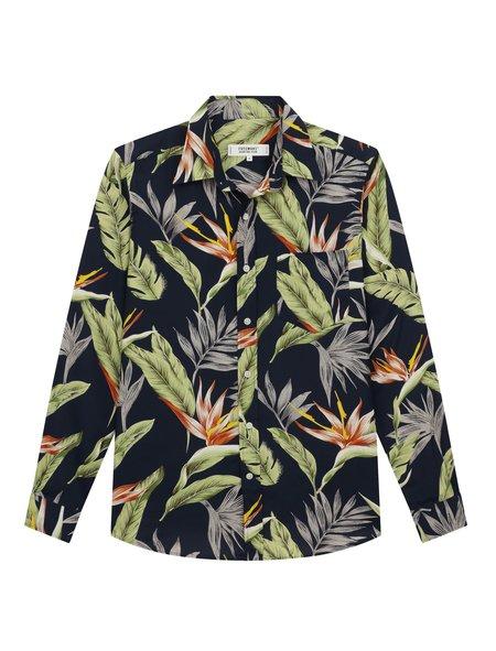 Freemans Sporting Club CS-1 Shirt - Floral Print