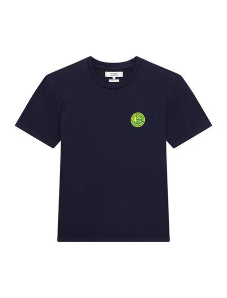 Freemans Sporting Club Patch T-Shirt - Navy