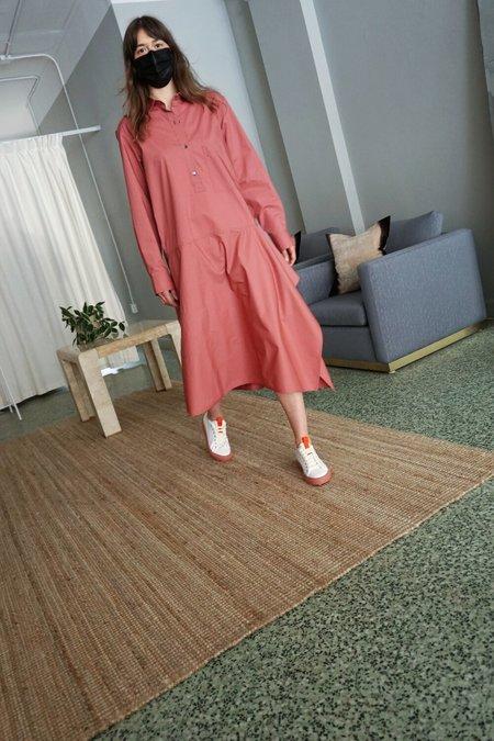 SOFIE D'HOORE DALLY SHIRT DRESS - TERRACOTTA