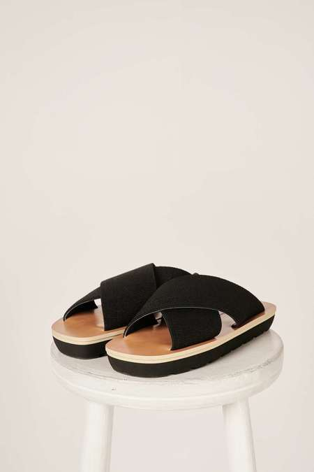 Proenza Schouler Crossover strap sandals - Black
