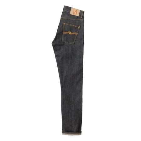 Nudie Jeans Grim Tim Dry L30 Jeans - Selvage