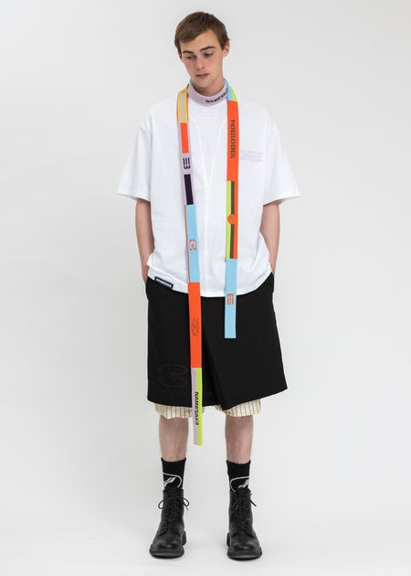 NAMESAKE Sava Oversized Right T-Shirt - White