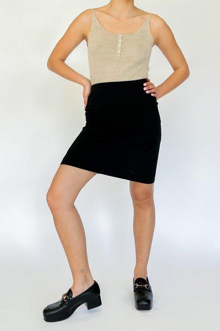Vintage Chloe Pencil Skirt - Black
