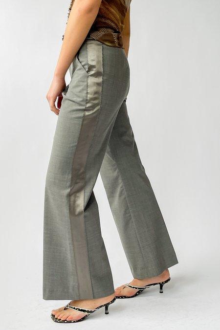 Vintage Low Rise Slacks - Grey
