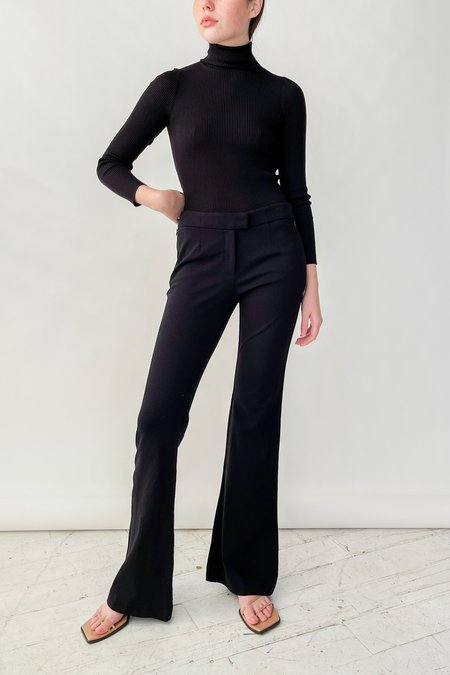 Vintage Prada Baby Flare Pants - Black