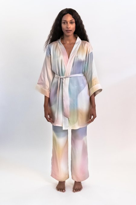 Untitled In Motion Laze Robe