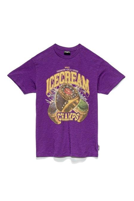 IceCream Champs SS Tee - purple
