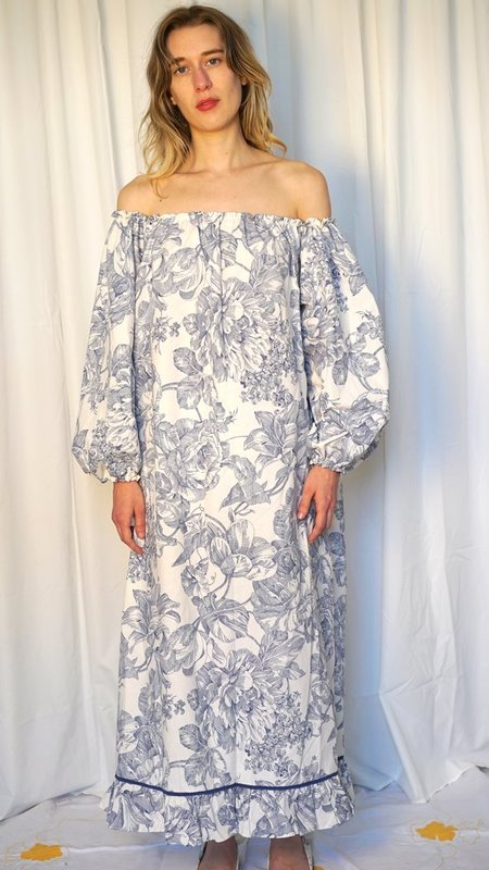 BY LIV HANDMADE AMELIE DRESS - blue