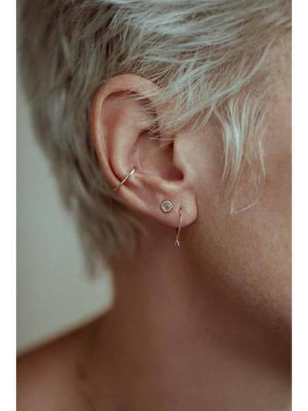 Fail Jewelry 14k Goldfish Earrings