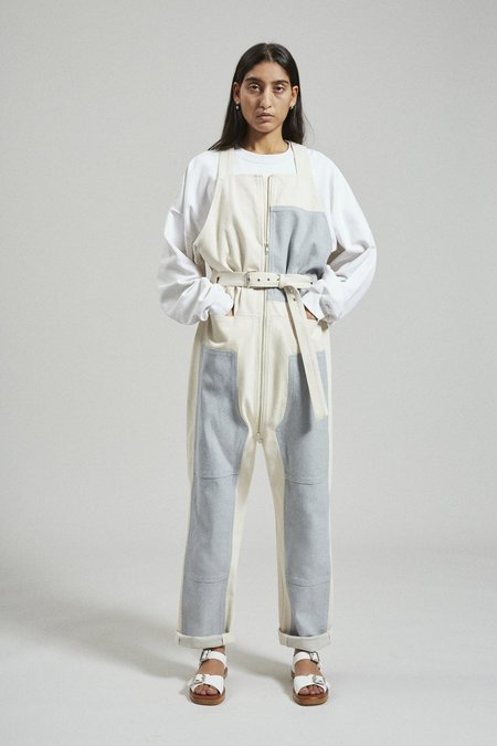 Rachel Comey Handy Upcycled Cotton Overalls