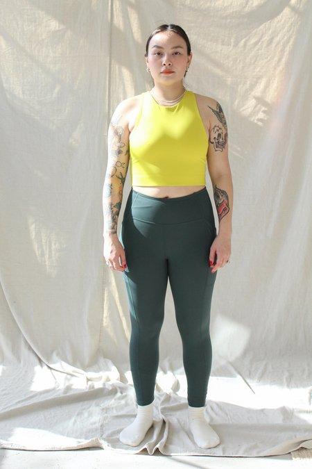 Girlfriend Collective Pocket Legging - Moss