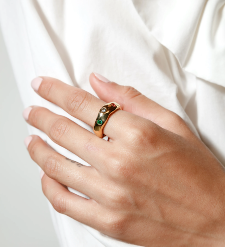Wolf Circus Ophelia Ring - Gold