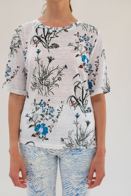 Epice Turquoise Linen Top