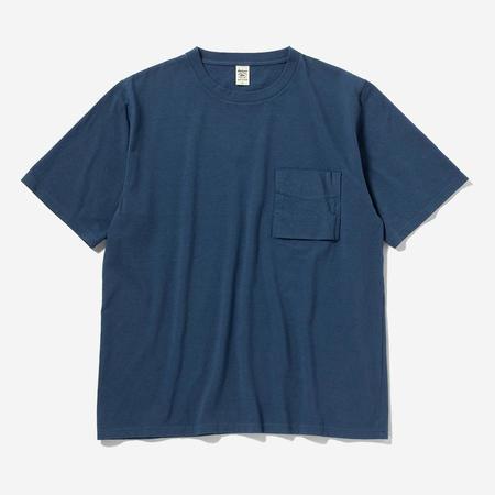 Jackman Pocket T-Shirt - Ash Blue