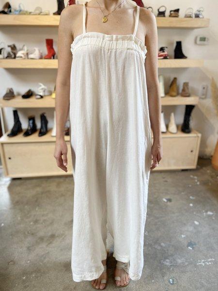 [Pre-loved] Ozma Deia Linen Jumpsuit - Natural