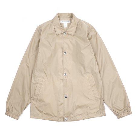 Comme Des Garcons Yue Minjun Printed Coach Jacket - Beige