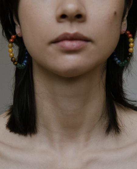 Vermeer Studio Elliana Earrings - Gold/Multi