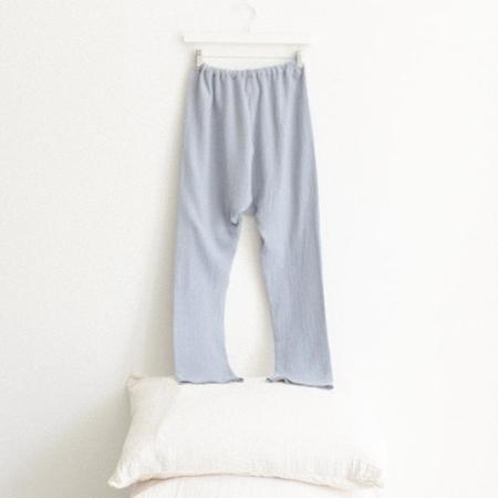 ADVICE Article Three Drawstring Pants - Periwinkle Blue