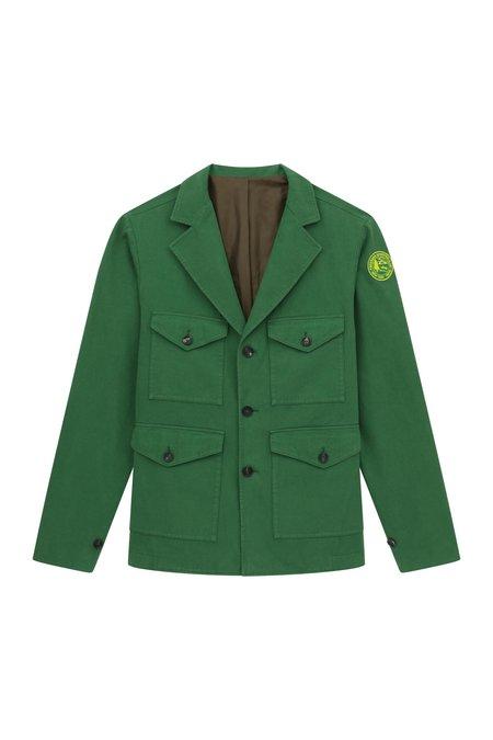 Freemans Sporting Club Pocket Coat - Dark Green