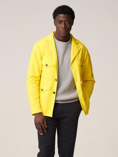 Freemans Sporting Club Pocket Coat - Yellow