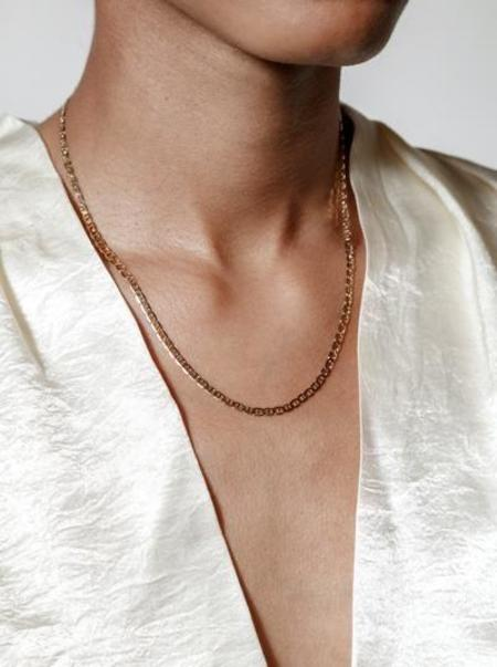 Wolf Circus the toni necklace - gold vermeil