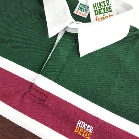 Chikahisa Studio x Fresh Store Torino Green Rugby Shirt
