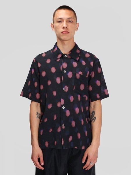 Our Legacy Box Shortsleeve Shirt - Strobe Print