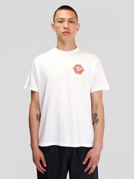 Our Legacy Box T-Shirt - White Signature Kiss Print
