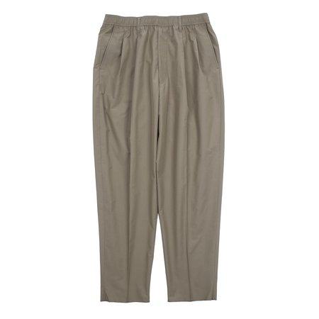 N.hoolywood Wide Tapered Easy Pants - Khaki